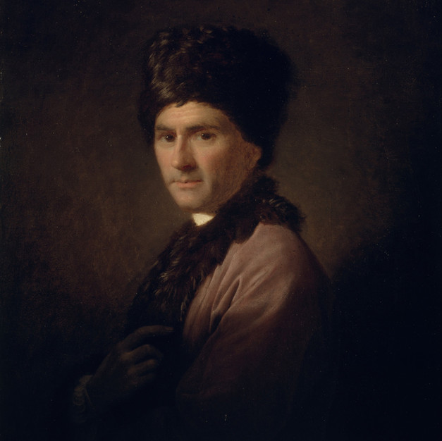 Allan Ramsay, Jean-Jacques Rousseau