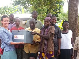 Laëtitia, our summer volunteer in Uganda, kicking off new VSLA groups!