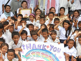 The school in Cambodia is finished!