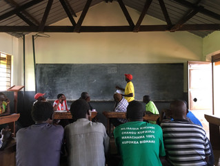 Launching a new VSLA programme With The Uganda School Project