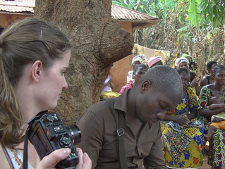 Seeds' third volunteer: Anne comes with us to Benin. Thank you Anne!
