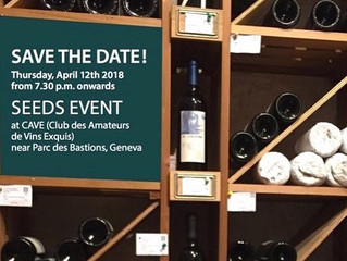 Seeds' charity wine tasting event in Geneva