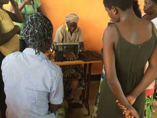Empowering Uganda's women through tailoring and business training