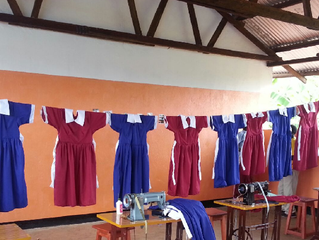The tailoring centre was inaugurated!