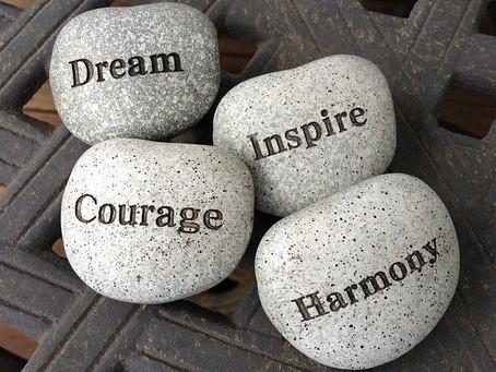 Courage - something feels hard!
