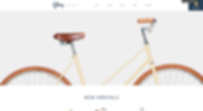 Bicycle eCommerce Website Template wix-bicycle