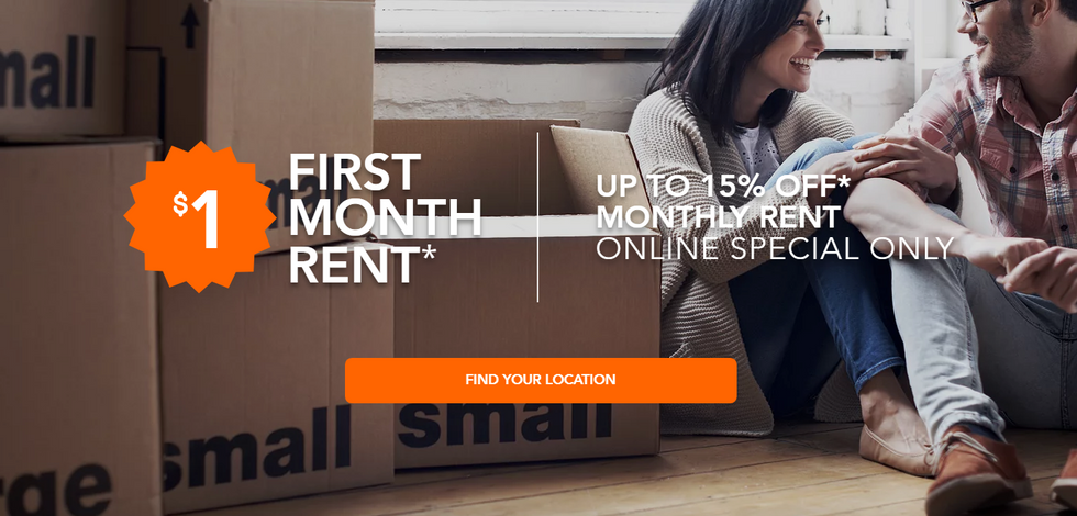 Multi-Location Storage Company Website