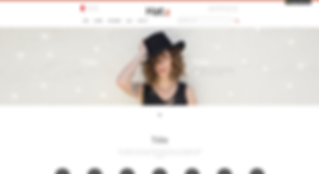 Hat and Accessories eCommerce Website Template
