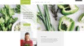 Food Health Website Template wix-dietitian