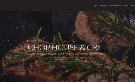 100 South Chophouse 100 South is an upscale Chop House located in the ...