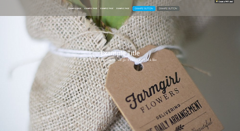Florest Website Template