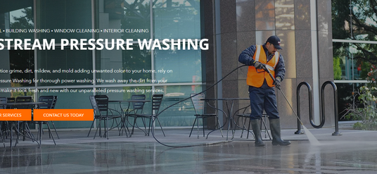 Pressure Washing Company Website