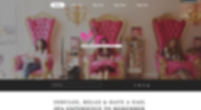 Nail Spa Salon Website Template