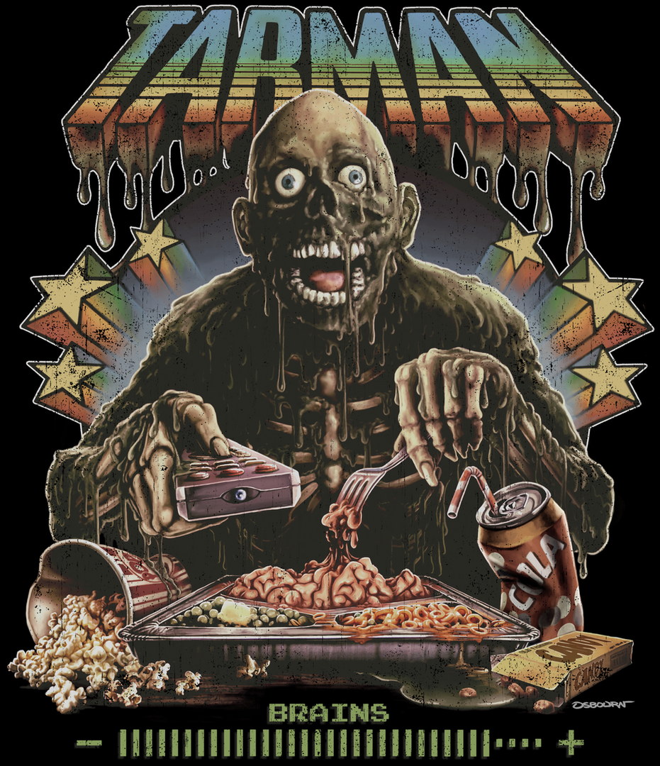 Tarman More Brains Shirt