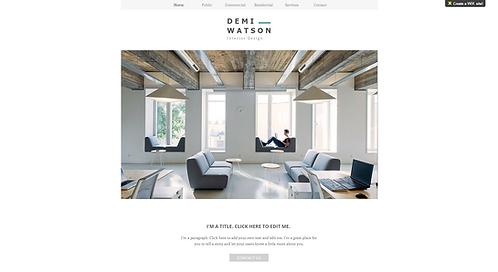 Template #: wix-interior