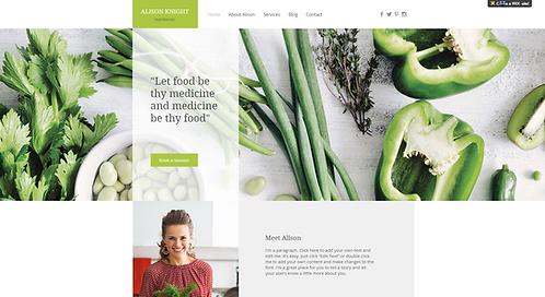Template #: wix-dietitian