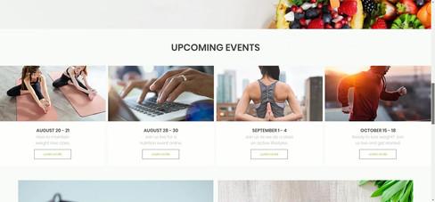 Fitness Couple Website