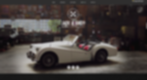 Auto Repair Website Template wix-vintage