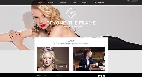 Fashion Website Template wix-fashion