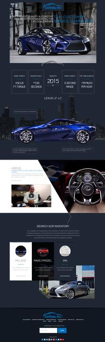 Automotive Data Website