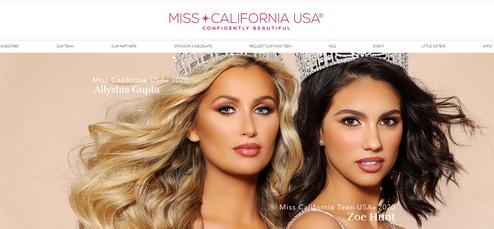 Miss CA Web Design