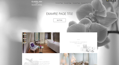 Spa Website Template 155685