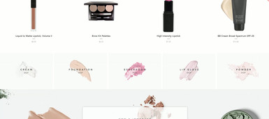 Beauty Product eCommerce Website