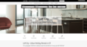 Appartment Rental Website Template wix-urban