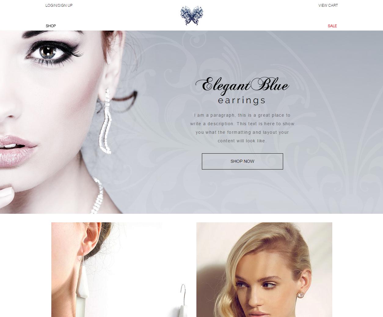 Fashion Jewelry Website
