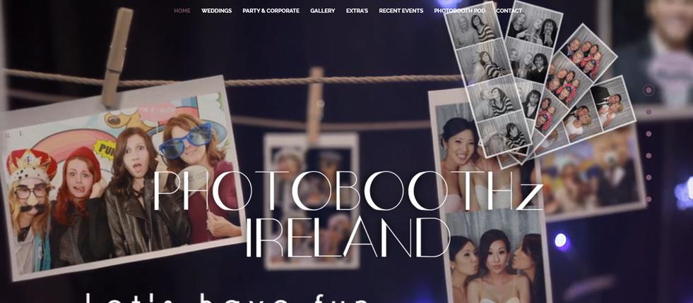 Photobooth Website