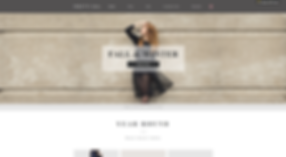Fashion eCommerce Website Template wix-womens