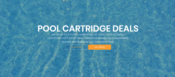 Pool Cartridge Website