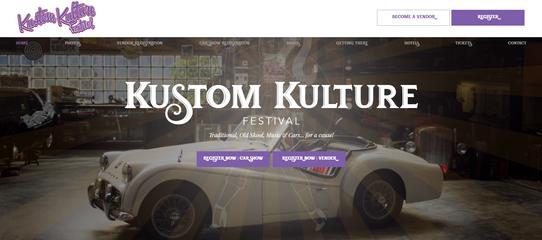 Kustom Kulture Website
