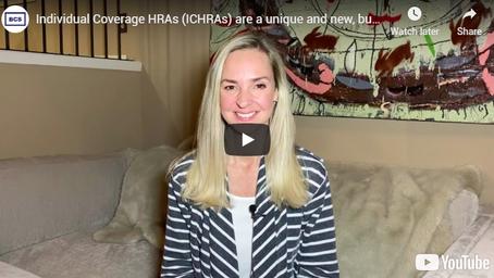 How do Individual Coverage HRAs (ICHRAs) work?