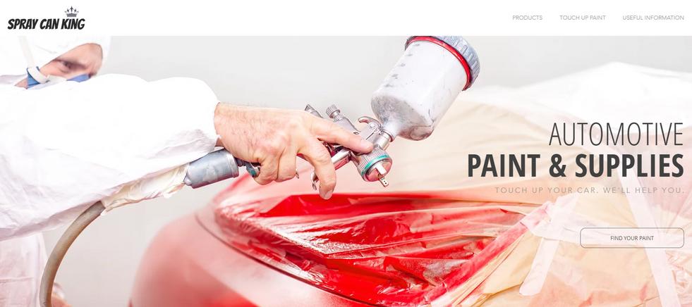 Automotive Paint Website