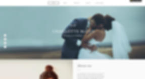 Photography Website Template wix-wedding