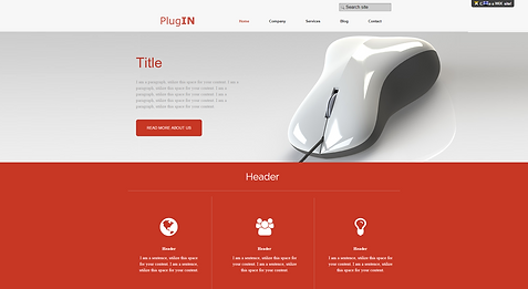 Tech IT Website Template 155510