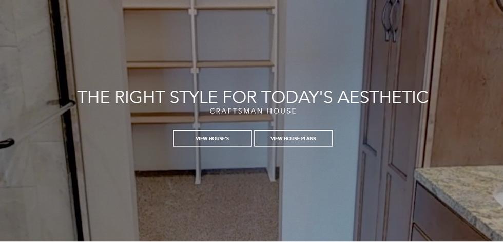 Home Builder Website Design