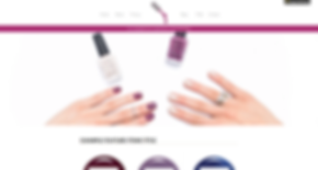 Nail Pedicure Website Template 155680