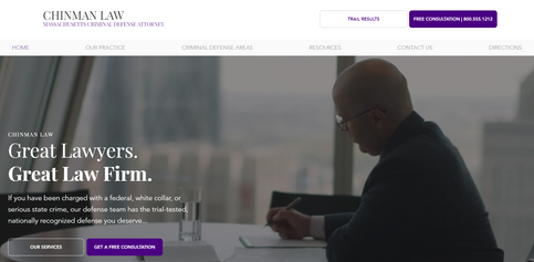 Law Firm Website Project