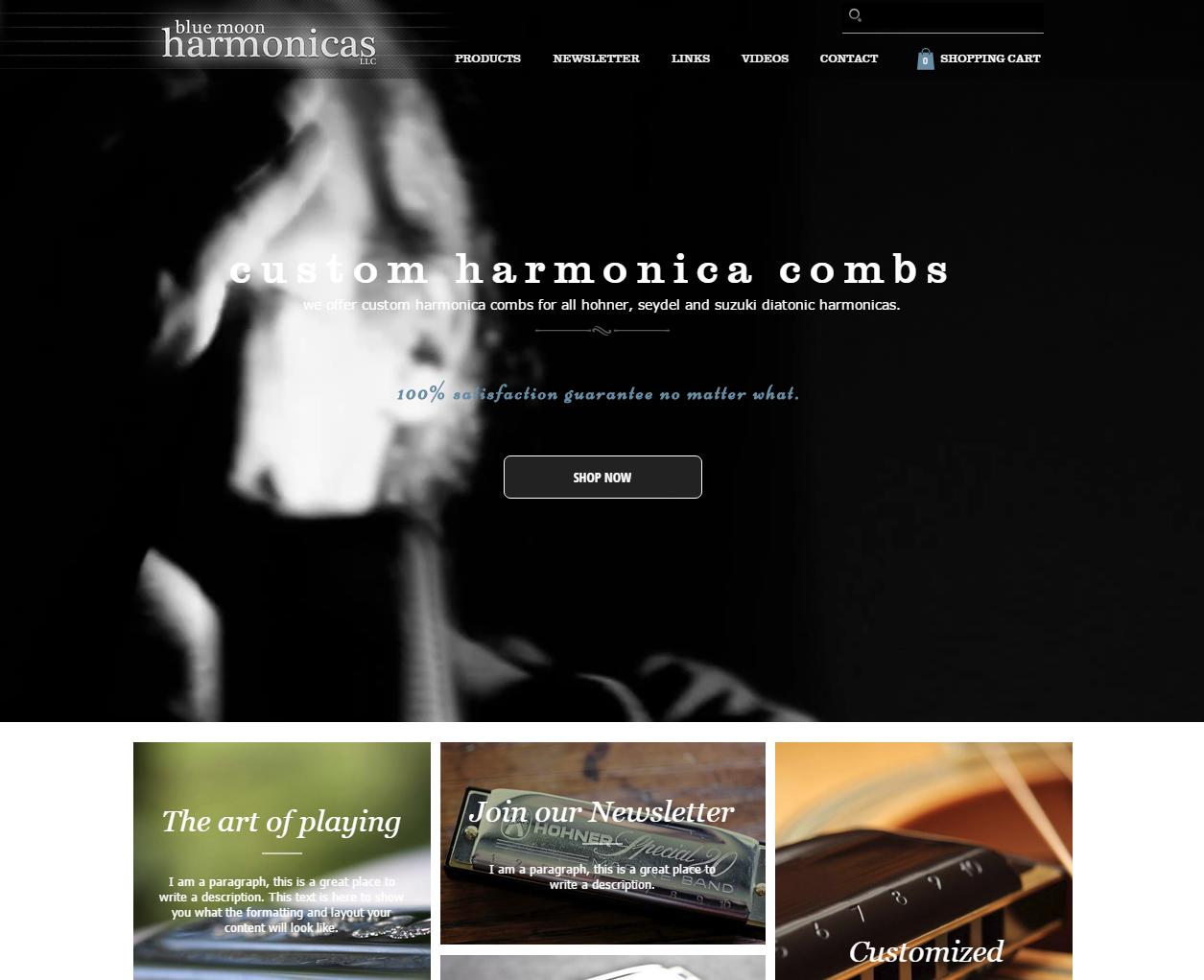 Harmonica Website