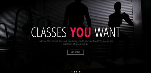 Multi-Location Gym Website
