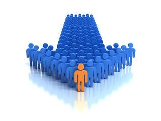 Leadership means leading people