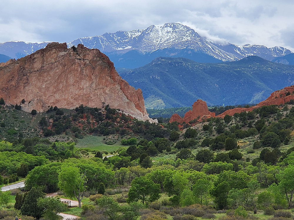 Pikes Peak and Glen Eyrie