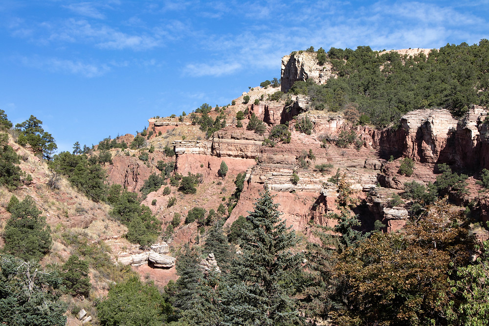 Queens Canyon entrance at Glen Eyrie.