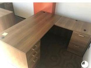 Laminate -L- Shape Desk