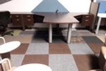 Laminate-Computer Desk T-Shape