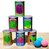 Game Can Toss Contains 6 Cans and 3 Balls Each