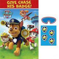 Paw Patrol Game Give Chase His Badge Game