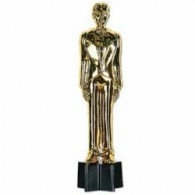 Trophy Statuette Male Awards Night